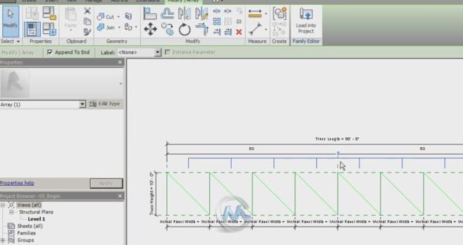 Revit桁架建模制作训练视频教程