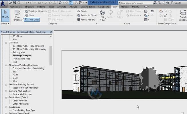Revit Architecture 2015高级训练视频教程