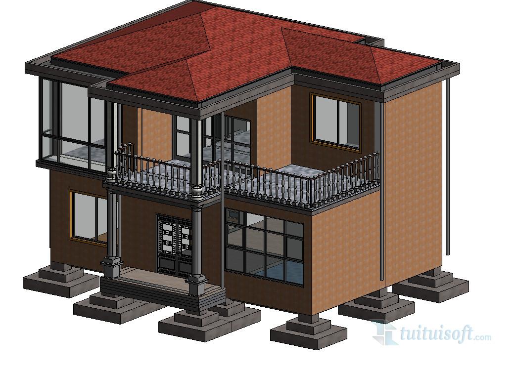立基础有组织屋顶排水