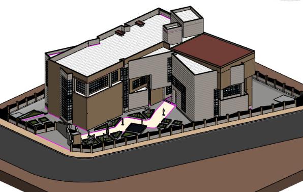 revit国外高级建筑模型下载